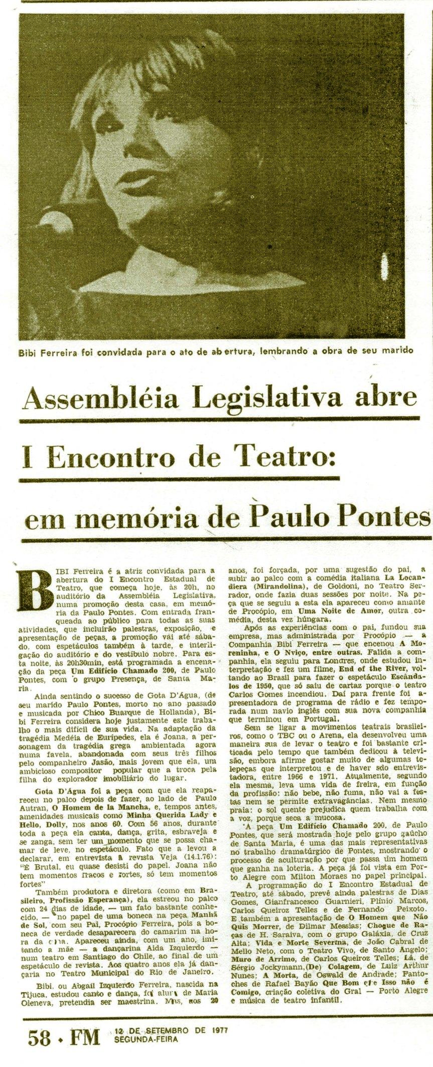 Folha da Manhã - Porto Alegre -