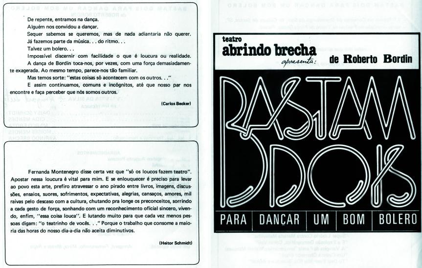 Programa (By Moisés Mendes)