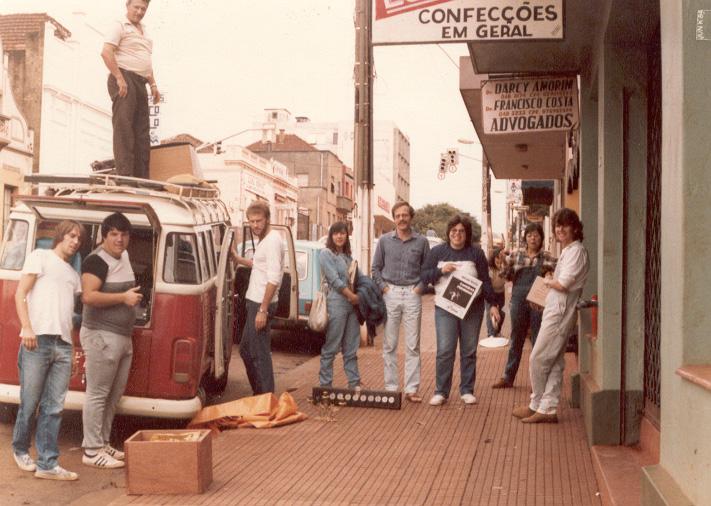Preparação para pegar a estrada - Ijuí - RS