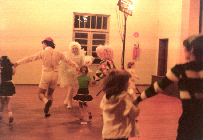 Participação das crianças no final