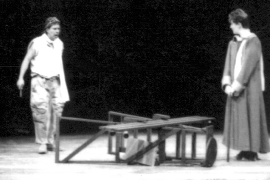 O Aviador (Heitor Schmidt) e o Pequeno Príncipe (Heloísa Paloro)