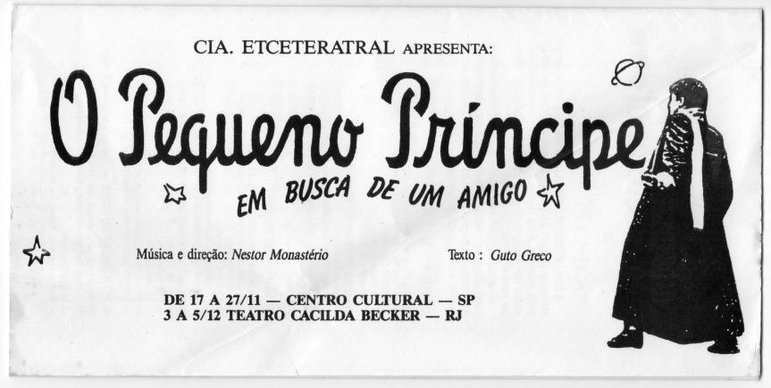 Programa - Temporada em São Paulo