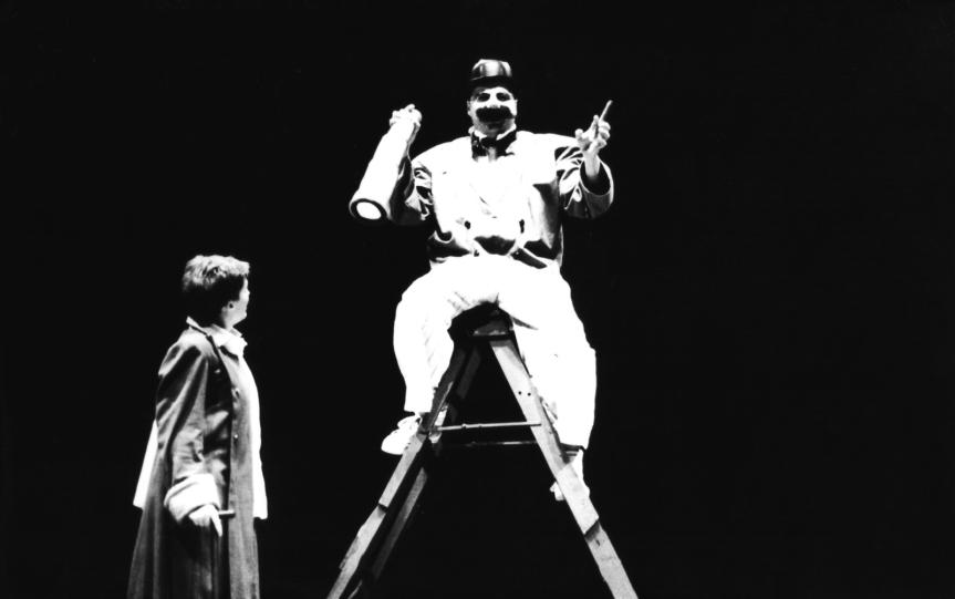 O Pequeno Príncipe( Heloísa Palaoro) e o Homem de Negócios (Guto Greco)