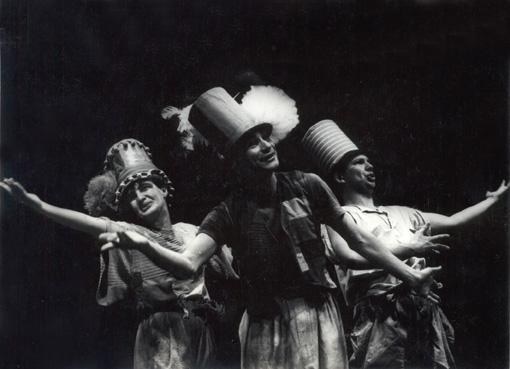 Os Vaidosos (Heloísa Paloro, Mário de Bellentti e Heitor Schmidt)