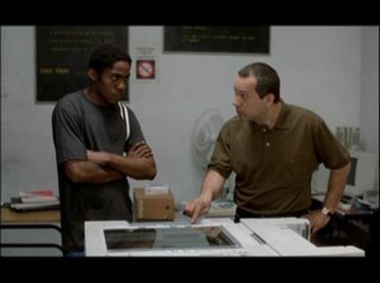 Lázaro Ramos e Heitor Schmidt