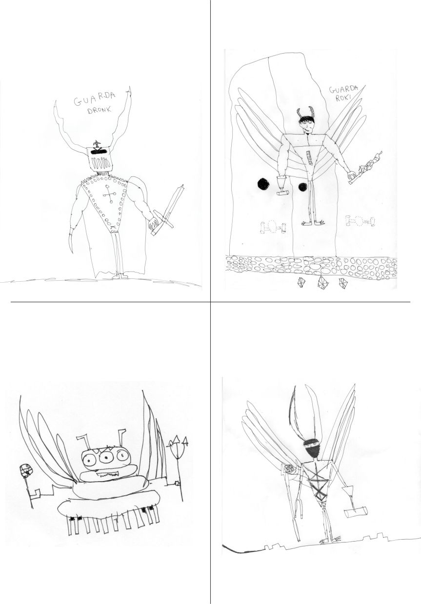 Desenhos by Theo Schmidt - agosto/2014