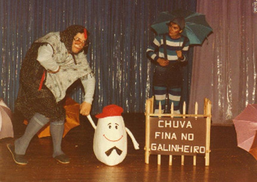 Eu Chovo, Tu Choves, Ele Chove - heitor Schmidt e Daisy Barella da Silva - 1984