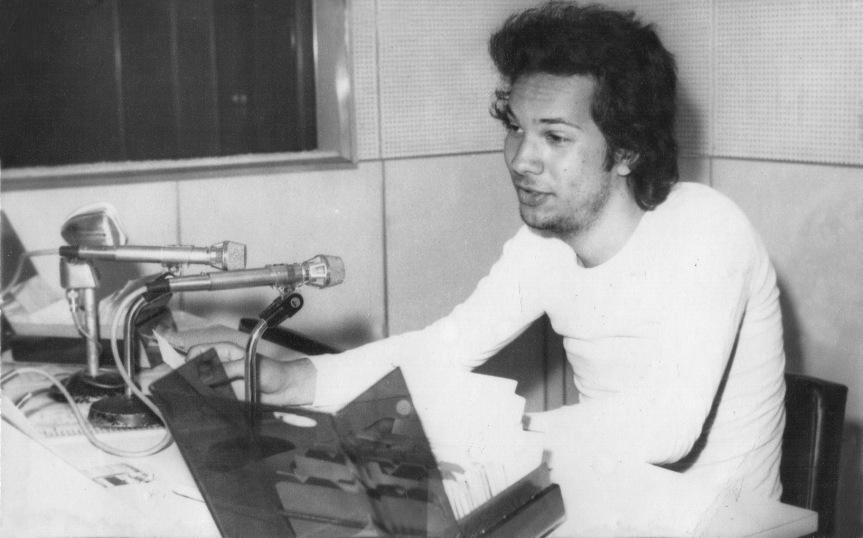 Heitor Schmidt - Locutor Rádio Cruz Alta - (Cruz Alta - RS) - 1974