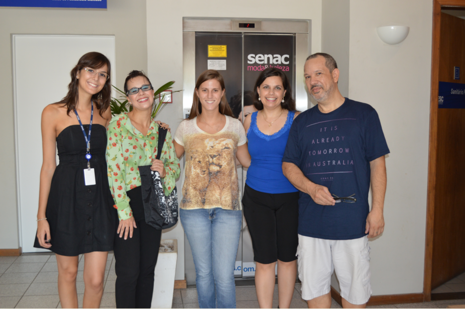 Érica Mallmann, Fernanda Petit, Carolina Bolzan, Daniela Barbosa, Heitor Schmidt