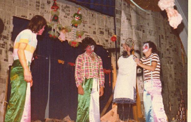 Conrado Maleski Jr., Altamir da Rosa (Milo) e Heitor Schmidt