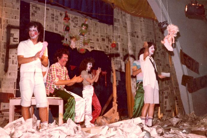 Heitor Schmidt, Altamir da Rosa (Milo), Sandra Goulart e Thales Biedacha