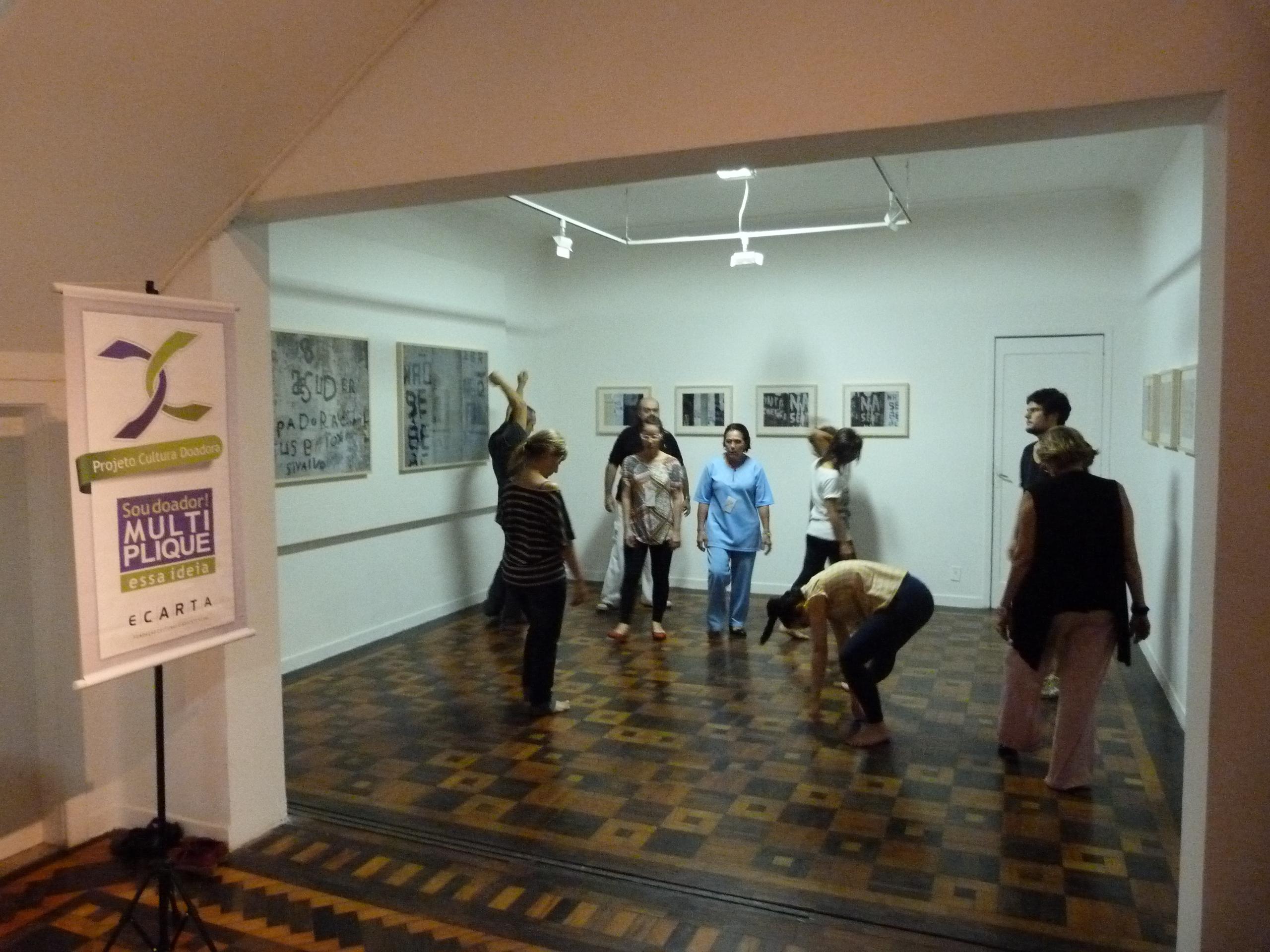 Oficina-Ensaio de Teatro Espontâneo - Cultura Doadora - Fundação Ecarta - Porto Alegre - RS