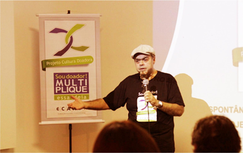 Artur José Pinto - Diretor Oficina-Ensaio teatro Espontâneo - Cultura Doadora - Fundação Ecarta - Porto Alegre - RS
