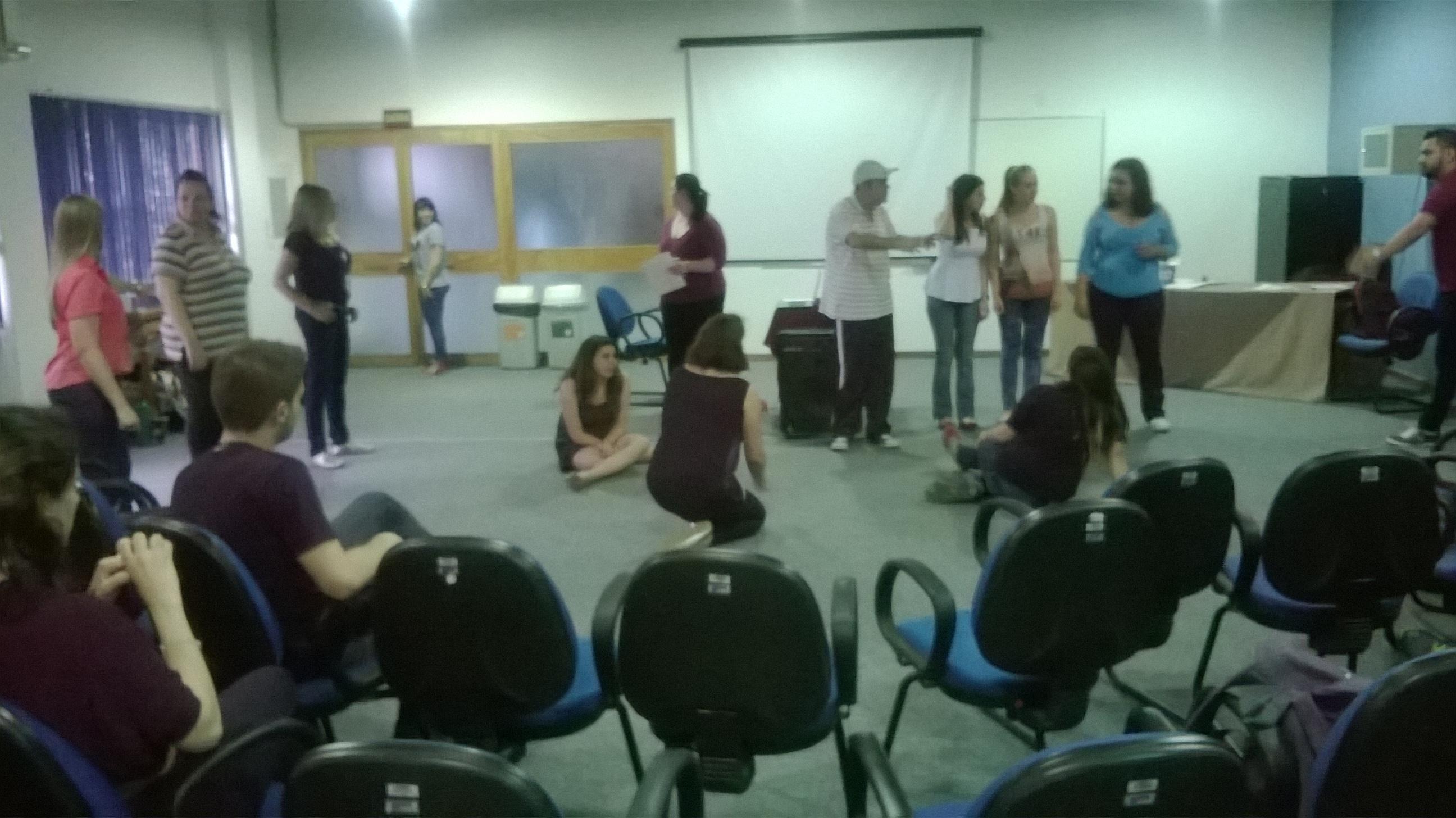 Teatro Espontâneo - PDE - SENAC CANOAS - RS