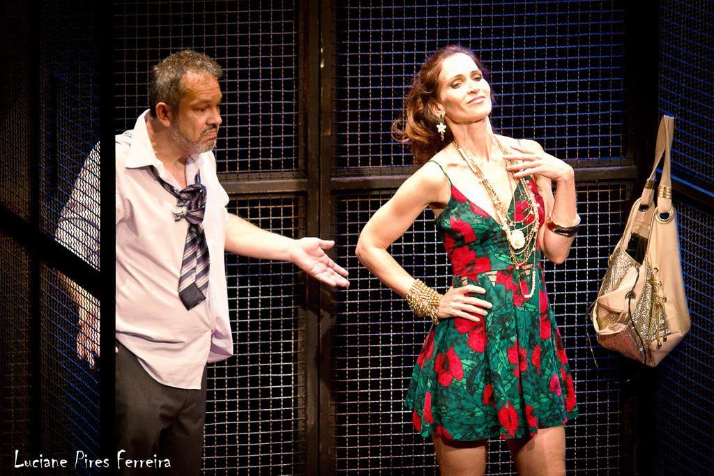 Heitor Schmidt e Ingra Lyberato (Foto: Luciane Pires Ferreira)