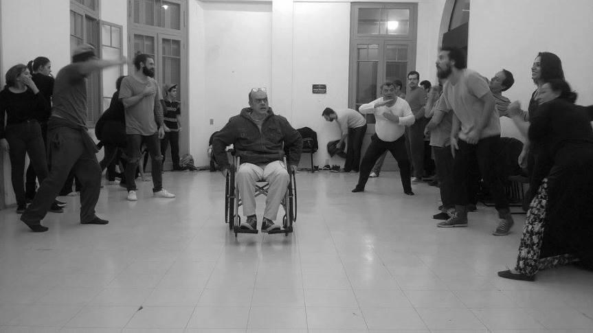 Oficina de Teatro Espontâneo - Trupe Transformarte - CCMQ - Porto Alegre - RS