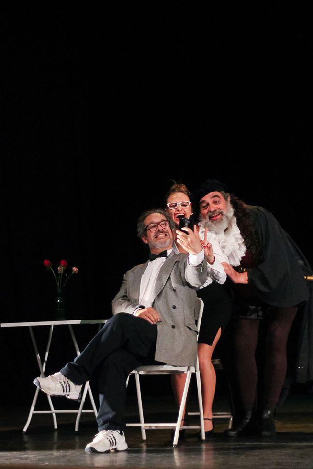 Heitor Schmidt, Camila Vergara e Luis Franke (Foto: Jéssica Barbosa)
