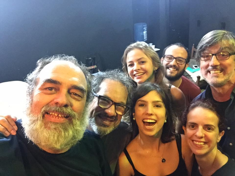 Luis Franke, Heitor Schmidt, Camila Vergara, Isnael Goulart, Catharina Conte, Fabiana Santos e Júlio Conte
